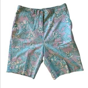 LILLY PULITZER Crab and Flowers Shorts